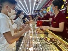 Bản tin thị trường vàng sáng 27/10: Giá vàng SJC đang tiến dần đến ngưỡng 59 triệu mỗi lượng